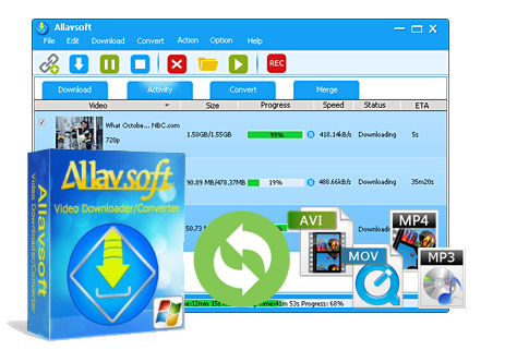 Allavsoft Video Downloader Converter v3.15.3.6551 + Keygen