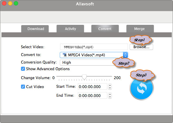 Convert MP4 to QuickTime on Mac OS X