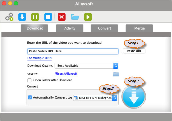 Download and Convert YouTube to M4A
